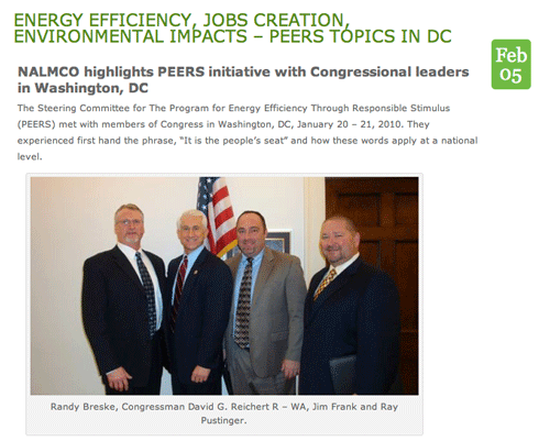PEERS Committee Members Meeting With a Congressional Representative